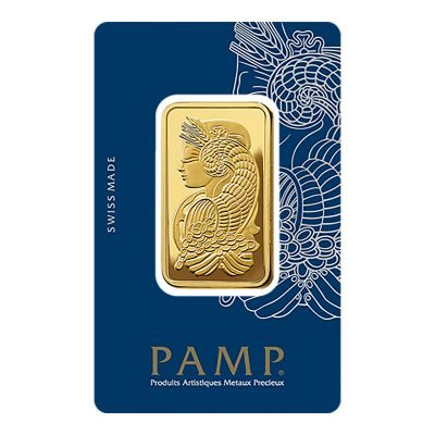 1 oz (ounce) – Gold Rectangular Ingot