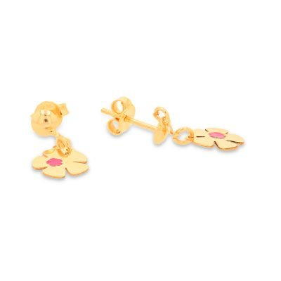 Classic Heart and Butterfly Earrings