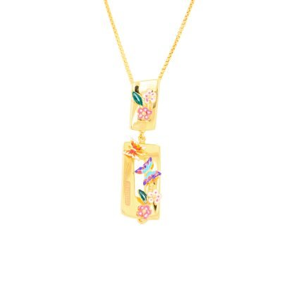 Flora and Fauna Pendant