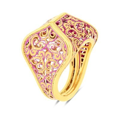Graziella Carved Ring