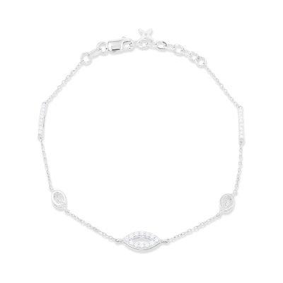 Elegant Diamond Chain Bracelet