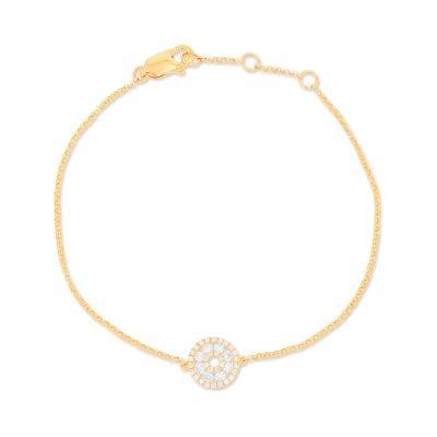 Ball Chain Diamond Bracelet