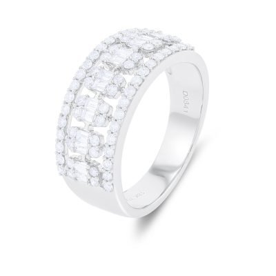 Sparkling Illusion Diamond Ring