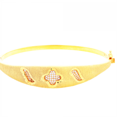 Elegant Open Bangle
