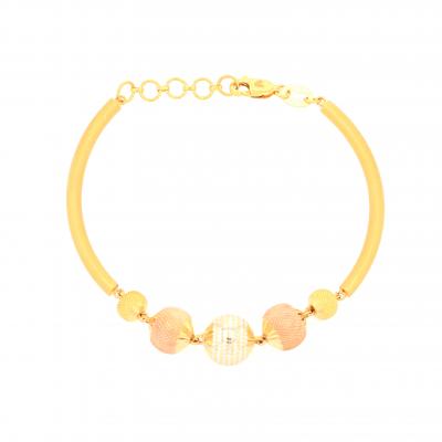 Classic 3 Colour Beaded Bracelet
