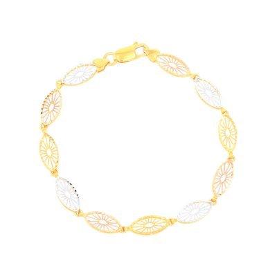 3 Colour Petal Bracelet