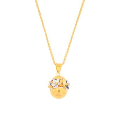 FANCY DAISY PENDANT
