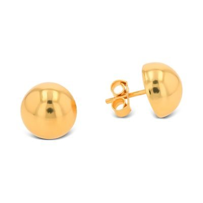 SEMI CIRCLE PLAIN EARRING