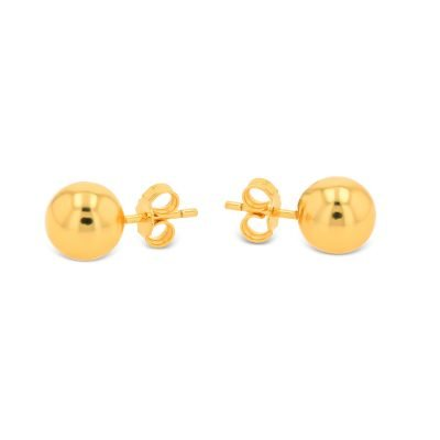 PLAIN BALL EARRING