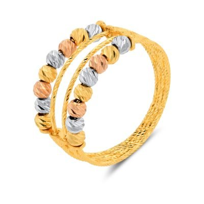 TREE COLOUR DIA CUT RING