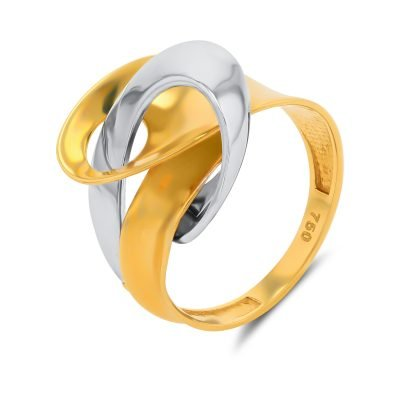 LOVE KNOT DUAL COLOUR RING
