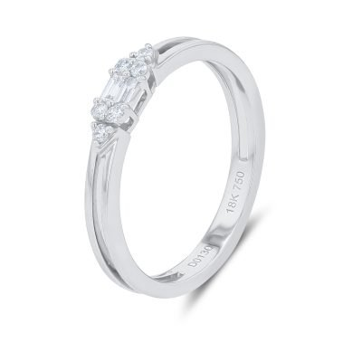 SIMPLY ELEGANT BAGUETTE DIAMOND RING