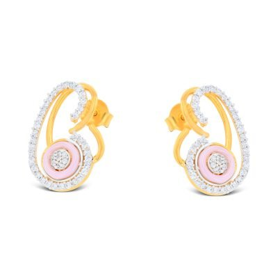 FANCY SHAPE CZ EARRING