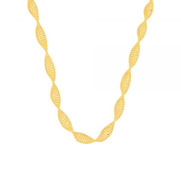 YELLOW SPIRAL CHAIN