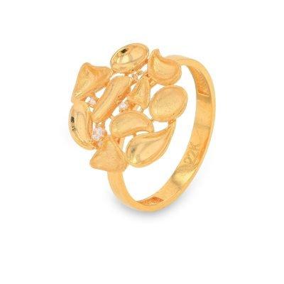 BOTANIC GOLD RING