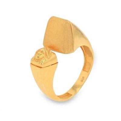 IMPERIAL GOLD RING FOR MEN