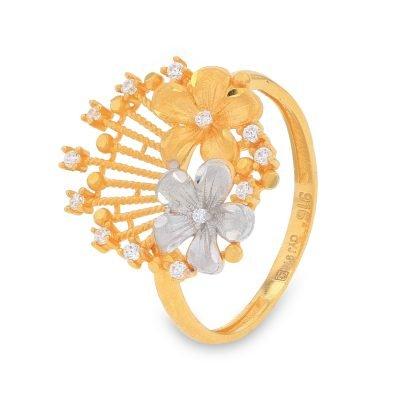 GARDENIA GOLD RING