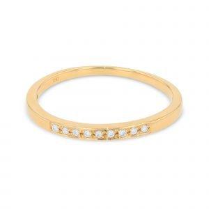 GRAIN SETTING DIAMOND RING