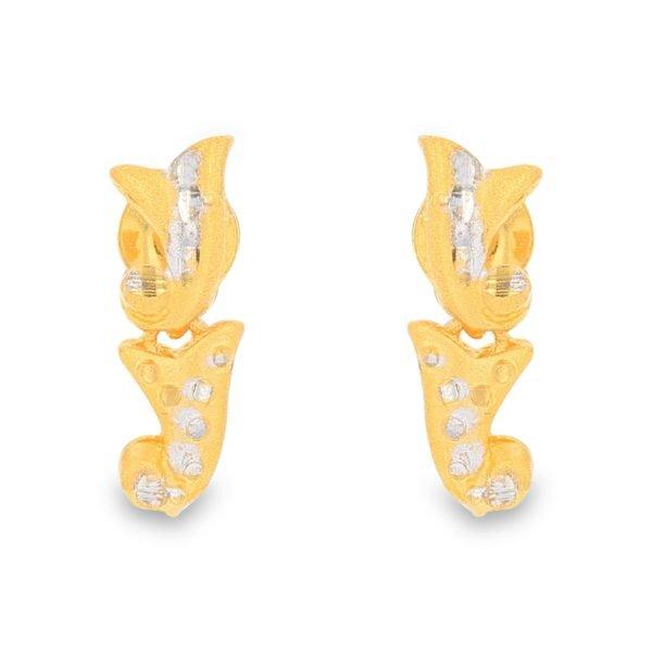 ALLURE GOLD EARRINGS