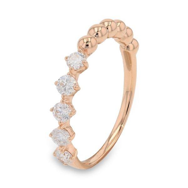 ROSE CONTEMPORARY DIAMOND RING