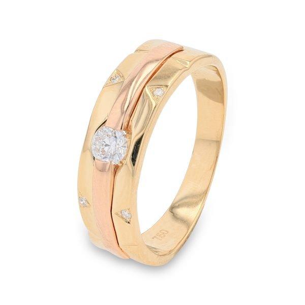 LUMINIOUS DIAMOND RING FOR MEN