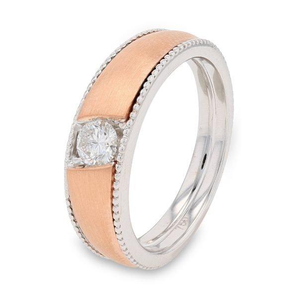 ROSE DIAMOND BAND FOR MEN