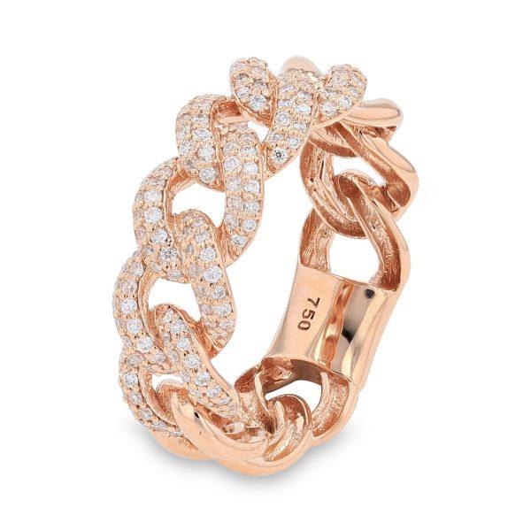 ROSE LOOP DIAMOND RING